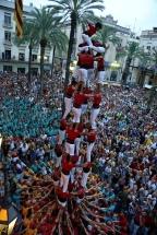 Diada castellera de Festa Major, Ajuntament de Vilanova i la Geltrú