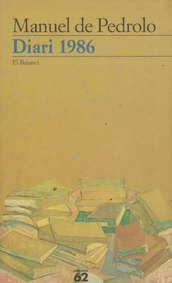 Diari 1986 de Manuel de Pedrolo