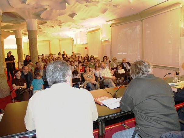 La-Pedrera--presentació-Jugant amb Foc 2, de Monmar Comunicació