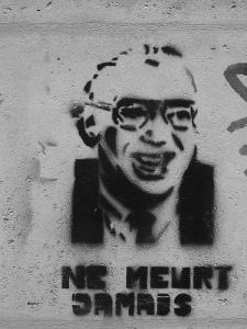 """""""Sartre-pochoir"""", d'EkE2k6"""