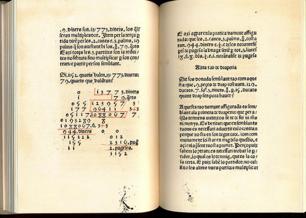 Suma de la art de arismètica, de Xavier Caballé