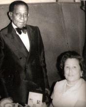 """Tia Vitoria con Antonio Machín"", d'A. Manuel Mateos"