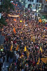 Una onada sobiranista ocupa la Via Laietana II, de Bernat F. F.