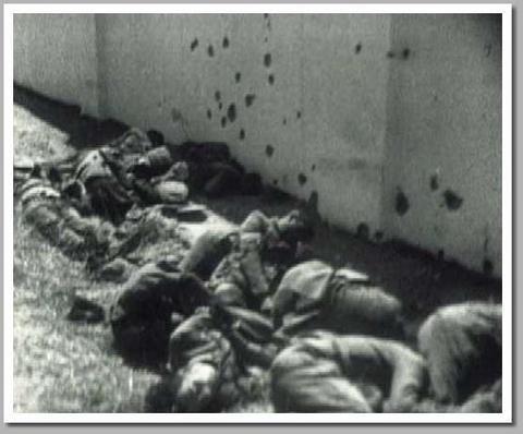 """Matanza de presos republicanos tras entrada tropas franquistas agosto 1936 Badajoz"", de Jaume d'Urgell"