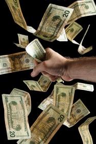 """Money Grab"", de Steve Wampler"