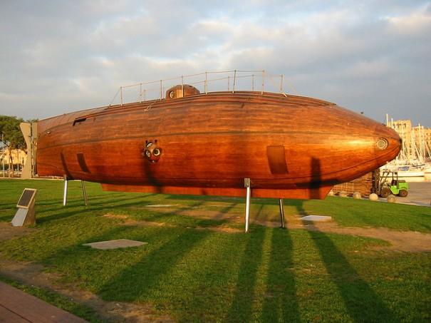 """The 1862 Submarine Ictineo II (Replica)"", de Keith Daly"