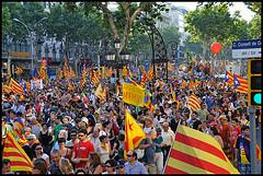 Manifestació Som Una Nació, Nosaltres Decidim! 47, de Merche Pérez