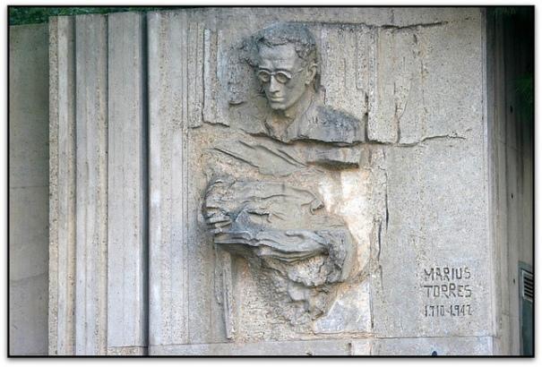 Homenatge a Màrius Torres, Lleida, foto de Jesús Cano Sánchez