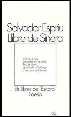 Llibre de Sinera, Salvador Espriu