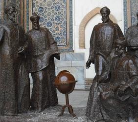 """""""Samarkant Registan Ulugbek Avicenna (Ibn Sina) en andere wetenschappers"""", Jasper van Osnabrugge, Flickr"""