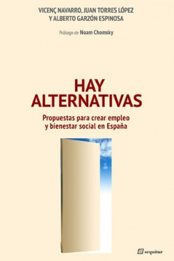 Hay alternativas, portada del llibre
