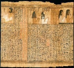 """""""Book of the dead of Kenna (RMO Leiden, Thebe 1325bc 18d)"""", de Rob Koopman"""