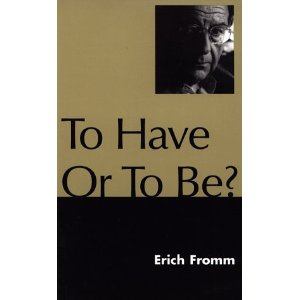 """To have or to be"", portada del llibre"