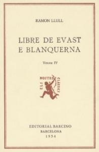 Llibre d'Evast e Blanquerna, de Ramon Llull