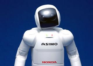 Robot Asimo d'Honda