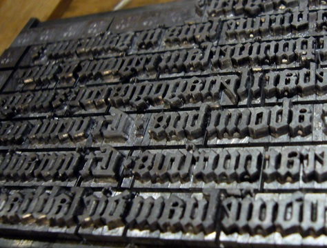 """Gutenberg moveable type"", Richard Rutter, Flickr"
