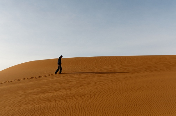 """""""Desert walk"""", de maartmeester (Maarten van Maanen), al Flickr, http://www.flickr.com/photos/maartmeester/5130198174/"""