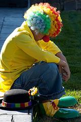 """""""Sad Clown"""", de Shawn Campbell, al Flickr"""
