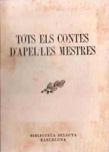 Tots els contes, d'Apel·les Mestres