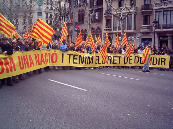 """We are a nation and we have the right to decide!"", de Paco Rivière, al Flickr"