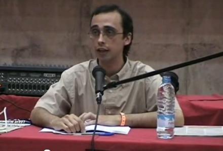 David Bravo i la SGAE, imatge del vídeo
