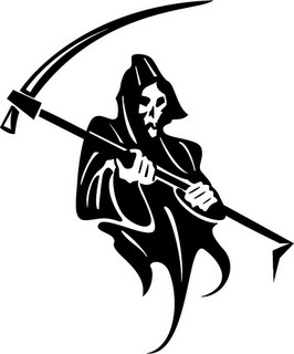 """Death With Scythe Vector"", de Vectorportal, al Flickr"