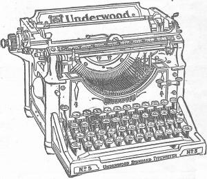 Remington Typewriter - 1912 etude 2 001