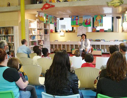 Sessió de contes amb la Sessi Sitjà, de la Biblioteca Pública Iu Bohigas, al Flickr
