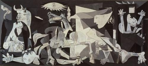 El Guernica, de Pablo Picasso, foto d'Andy Roberts, al Flickr