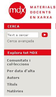 MDX (Materials Docents en Xarxa)