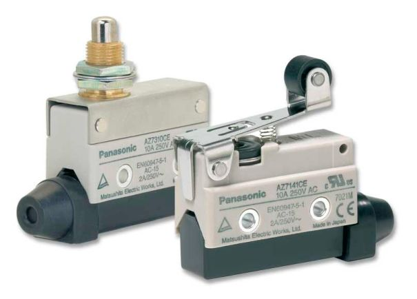 """Compact limit switch AZ7 de Panasonic"", de www.directindustry.com"