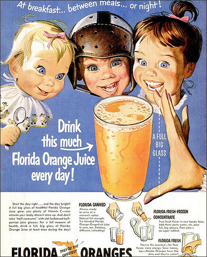 Florida Orange Juice 1951, de 1980sUnlimited, al Flickr