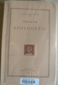 Apologètic, Tertul·lià