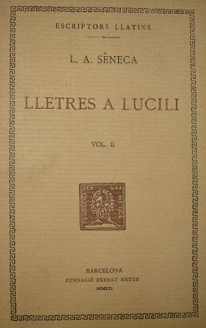 Lletres a Lucili, Sèneca