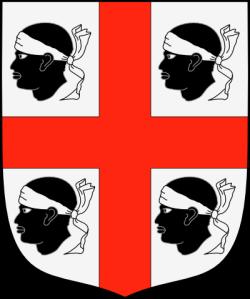 Emblema nacional d'Aragó abans de la seva unió dinàstica amb Catalunya