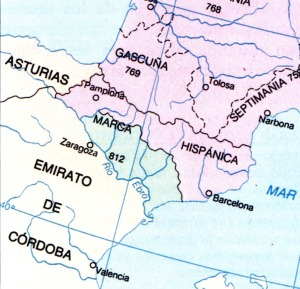 """El imperi carolingi tenia uns territoris que anomenava """"marques"""" que servien de """"coixí"""" - per dir-ho d'alguna forma amb els territoris que tocaven amb l'estranger. Així va nèixer la Marca Hispanica."""