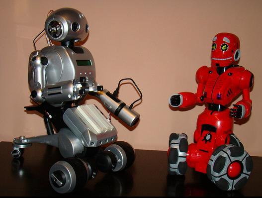Robots, Horia Pernea, Flickr