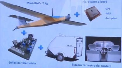 Imatge del vídeo Drons en aplicacions civils