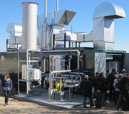 Visita el 9.2.2013 dels socis i sòcies de Som Energia a la planta de biogàs de Torregrossa