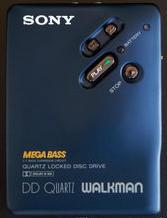 Walkman amb Mega Bass de Sony