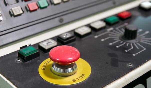 """""""Roter Knop"""" (botó vermell), de Maik Meid, Flickr"""