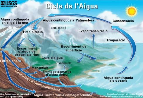 Cicle de l'aigua, Viquipèdia