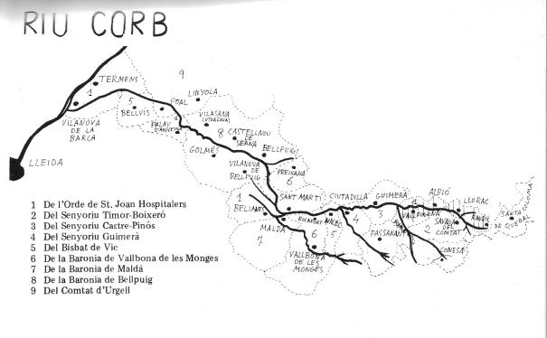 Corb, Riu1