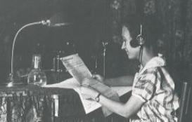 Maria Sabater, la primera veu de Ràdio Barcelona