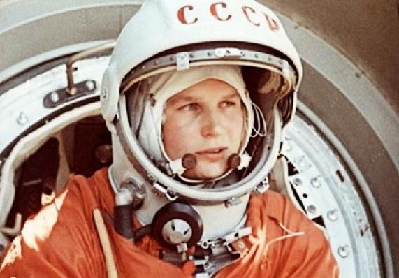 La primera dona astronauta, Valentina Tereixkova