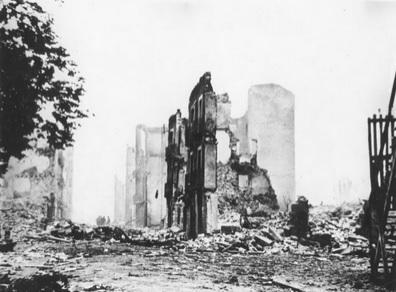 Ruïnes de Guernica després del bombardeig (1937)