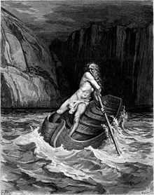 Caront, il·lustració de Gustave Doré per a La Divina Comèdia de Dante
