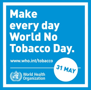 Make every day World No Tobacco Day, World Health Organization