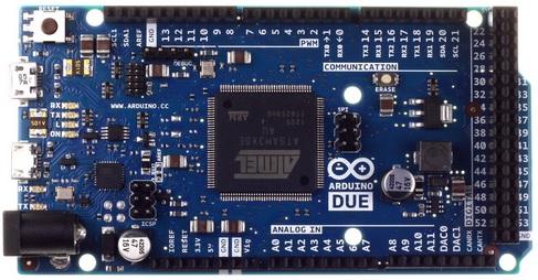 Microcontrolador Atmel a l'Arduino Due