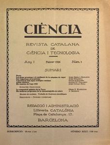 Ciència. Revista catalana de ciència i tecnologia